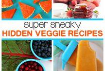 Rejtett zöldséges receptek