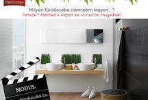 MODERN & MENŐ fürdőszobák - A Te álomfürdőszoba stílusod / Segítünk a legtöbbet kihozni álmaid fürdőszobájából! -www.álomfürdőszoba.hu
