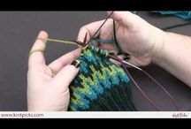 KNITTING FAIR ISLE - COLORWORK & DOUBLE VIDEO