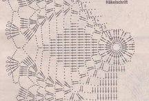 салфетки схемы / вязание