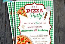 Pizza Party | THEME / #partyinvite #ForeverYourPrints #FYP #4EverYourPrints #PartyTheme #PartyIdeas #Inspiration #Printables #PartyPrintable #Birthday #BirthdayInvites #BabyShower #BabyShowerInvites #Pizza / by Forever Your Prints