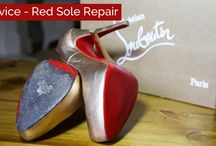 Red Sole Repair / New treatment! Handbag Clinic now offer Red Sole Repairs & Recolouring.