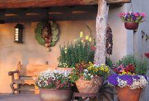 spanish outdoor living