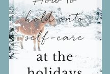 Holiday Help / Resources to help you manage the holiday season and calm your mind.