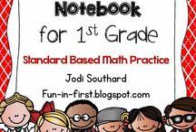 First Grade-Math / by Casey Jo