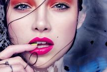 COLOUR CLASH / Bright and colourful make-up inspiration, featuring editorial and creative artistry!