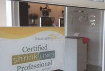 shrinkLINKS Certified Salons / Our popular shrinkLINKS system is featured in these top salons!