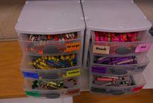 Organization / Crayons