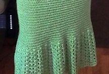Wollgewusel Röcke/Kleider / Crochet, Rock, Kleider