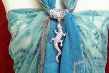 paréo/foulard/étole / le paréo et son bijou l'élégance à la plage ou la piscine mirliflore.fr