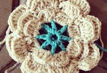Crochet flowers / Voorbeelden voor Laura