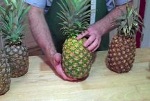 how to cut pineapples