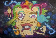 My Graffiti / Some graffiti and characters I painted by myself