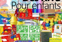 Cadeaux artistiques / Des idées d'achat pour les enfants aimant créer - matériel, accessoires, livres... - http://www.artgra.net