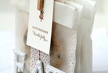 DIY Ideas We Love / DIY ideas for packaging, display, and gifting of cookies and sweet treats