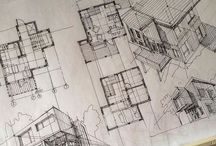 Architects sketch