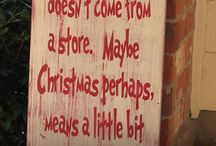 Christmas Quotes / Get yourself in the festive spirit