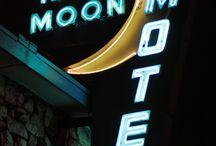 Vintage Motel Signs / Cool vintage retro motel hotel inn signs