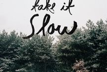 Slow-living