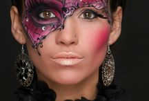 Face and body painting arts