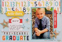 School Scrapbook Pages / by Misty Cato