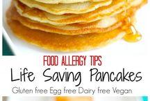 Dairy free, egg free, gluten free