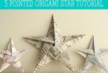 Origami sterren