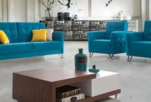 Living Room Suites / Great inspirations from wide range of living room suites. Suites include three seater, two seater and an armchair.