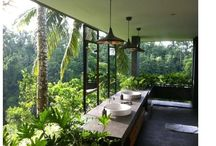 Beautiful outdoor bathrooms