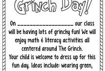 Grinch Day Ideas