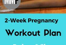 Maternity workout