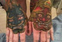Tatoo manos