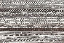 { pretty patterns } / Beautiful patterns and surface designs.