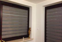 rolety dzień noc/ day night blinds / fantastyczne designerskie osłony okien