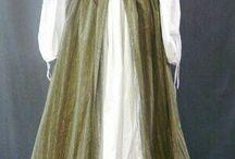 victoriaanse rokken en jurken