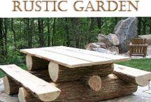 Tømmer møbler