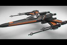 X wing series starfighter