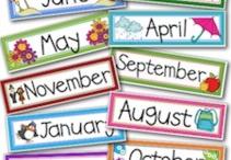 Birthday / Board for classroom
