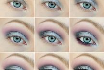 Playing with make-up ♡