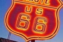 Route 66 / by Mary Bucher