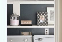 Laundry rooms / by Taryn {Design, Dining + Diapers}