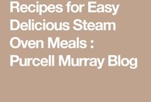 Steam oven recipes