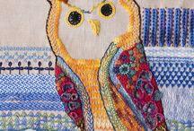 My Stitching & Felting / Stitching, embroidery, felting, book making