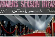 Awards Season Ideas / Ideas to make your Awards Season parties red carpet worthy!