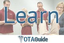 OTA School & Education / Get the best info on #OT and #OTA #programs #schools #study methods and more