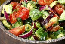 Food- salads / by Larissa Bennett