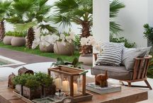 Inspiration OUTDOOR SPACES / Spaces for relaxing and entertaining in the outdoors.