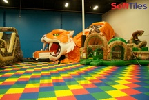 Large SoftTiles Installations / Here are some larger installations using SoftTiles Interlocking Foam Mats. SoftTiles are versatile and can be used for many types of floors.