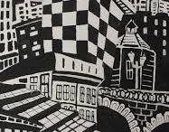 графика город