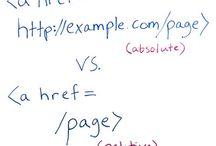 HTML / Hyper Text Markup Language : le langage permettant de bâtir des sites Web.